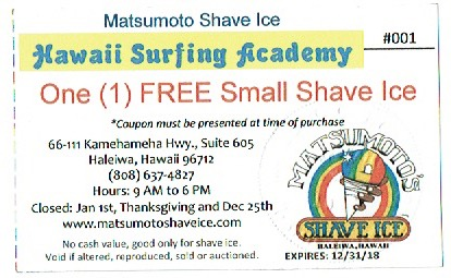 Free Shave with Surfing Lessons